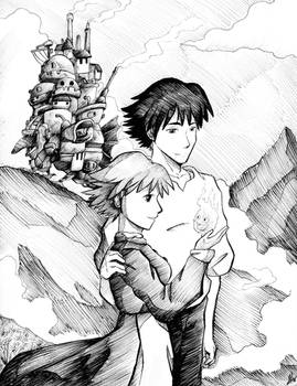Commission: Howl's Moving Castle