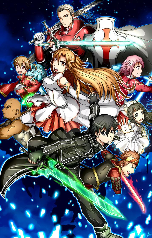 Sword Art Online by Smudgeandfrank