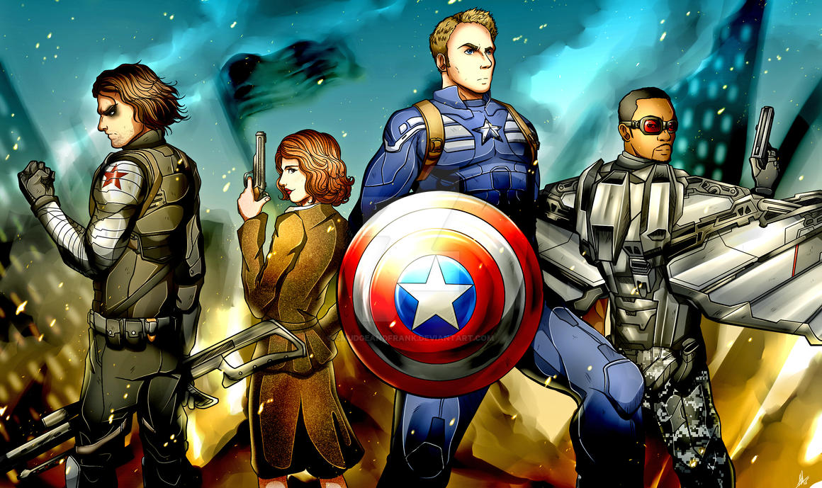 Captain America by Smudgeandfrank