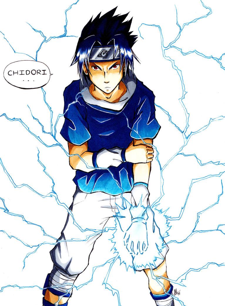 Commission: Sasuke Uchiha by Smudgeandfrank