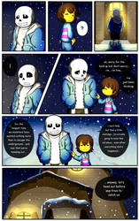 Reminiscence: Undertale Fan Comic Pg 4