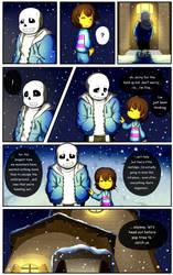 Reminiscence: Undertale Fan Comic Pg 4 by Smudgeandfrank
