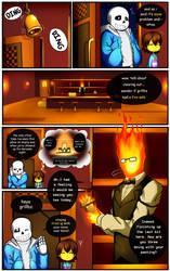 Reminiscence: Undertale Fan Comic Pg. 5 by Smudgeandfrank
