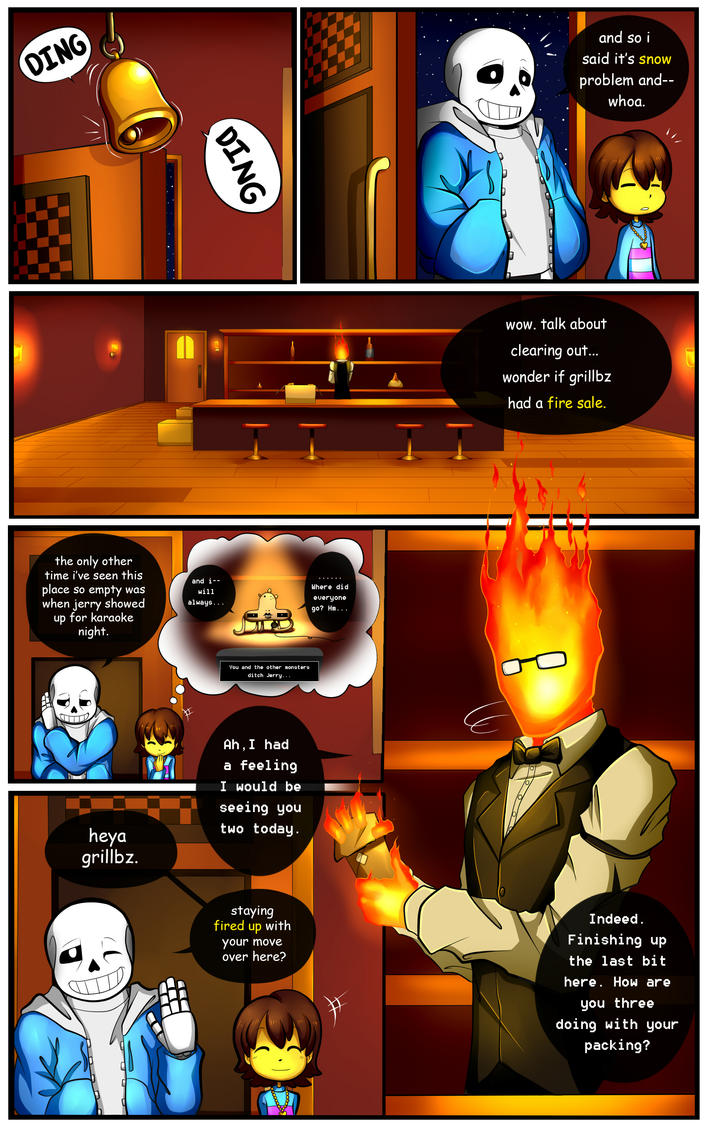 Reminiscence: Undertale Fan Comic Pg. 5 by Smudgeandfrank