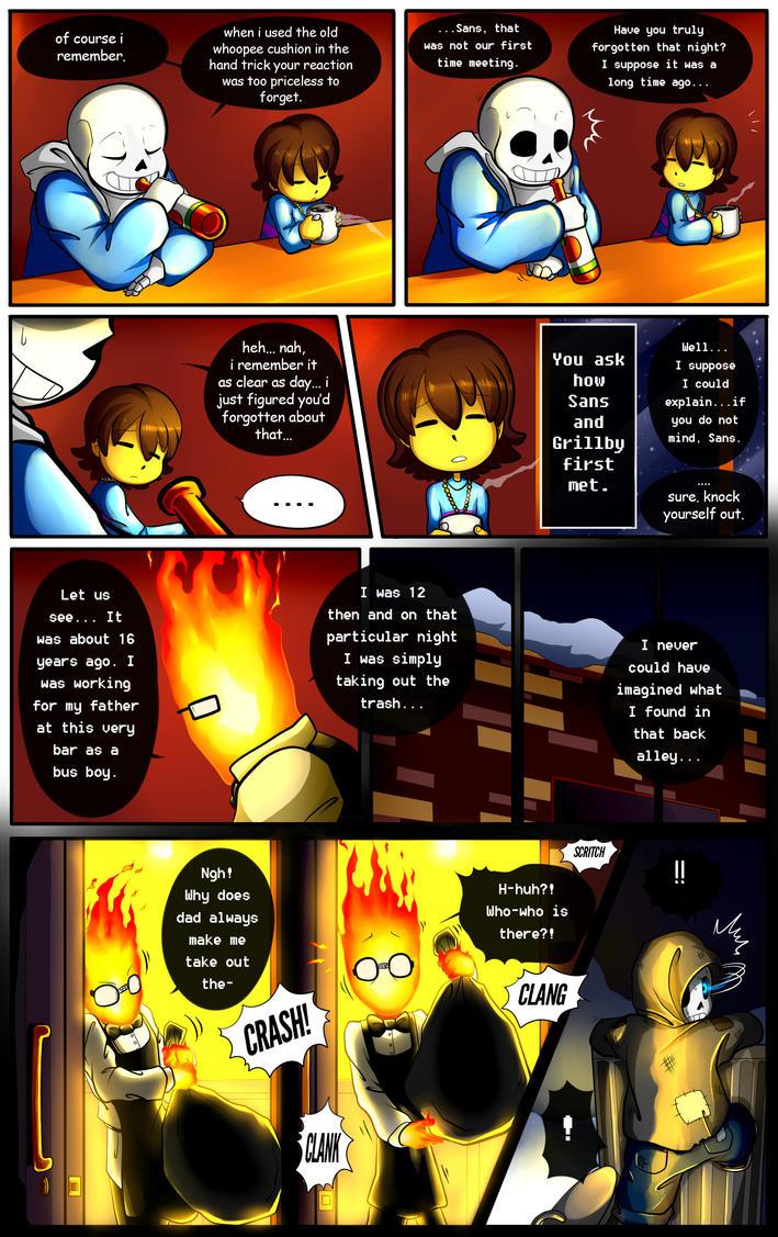 Reminiscence: Undertale Fan Comic Pg. 7 by Smudgeandfrank