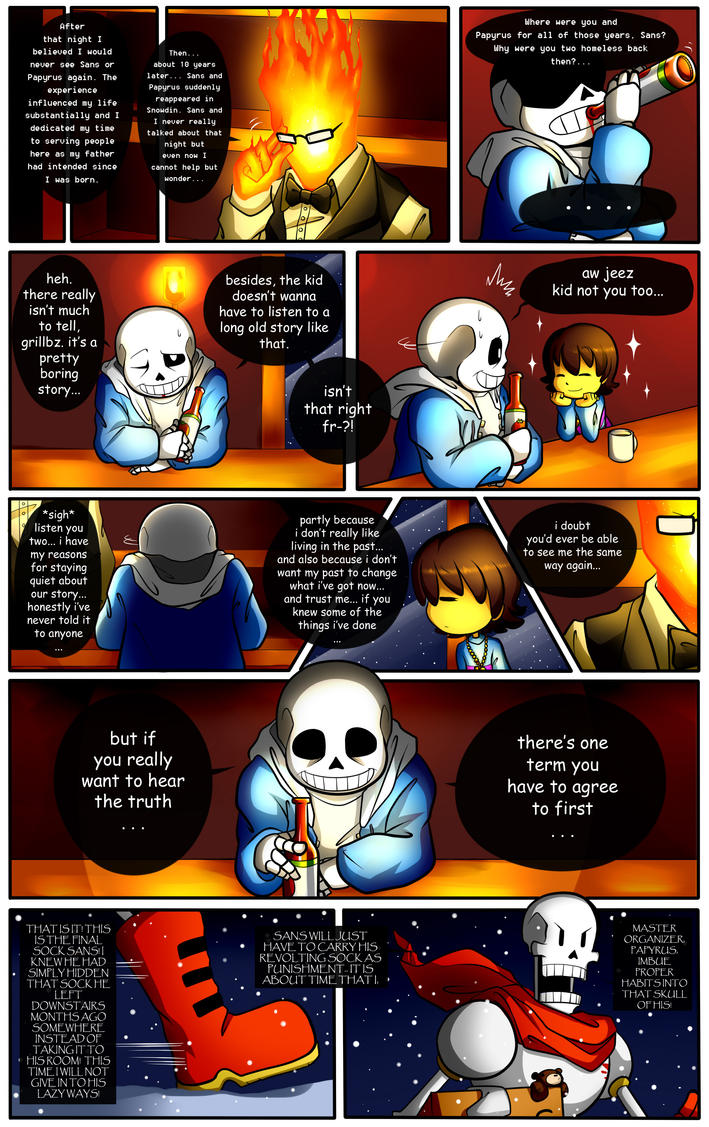 Reminiscence: Undertale Fan Comic Pg. 11 by Smudgeandfrank