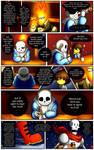 Reminiscence: Undertale Fan Comic Pg. 11