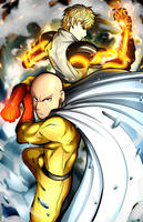 One Punch Man by Smudgeandfrank
