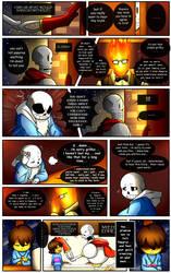 Reminiscence: Undertale Fan Comic Pg. 12