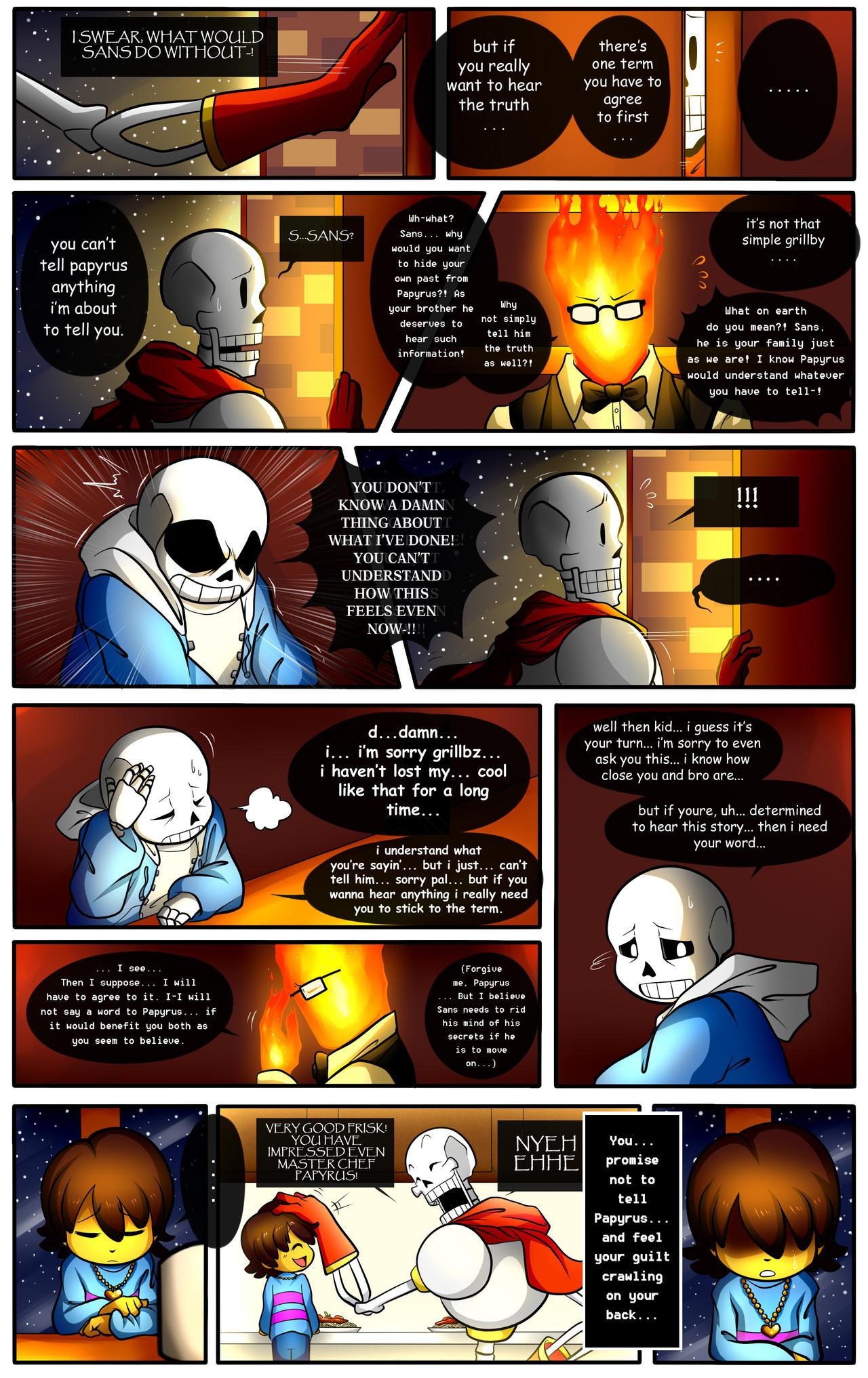 Reminiscence: Undertale Fan Comic Pg. 12 by Smudgeandfrank