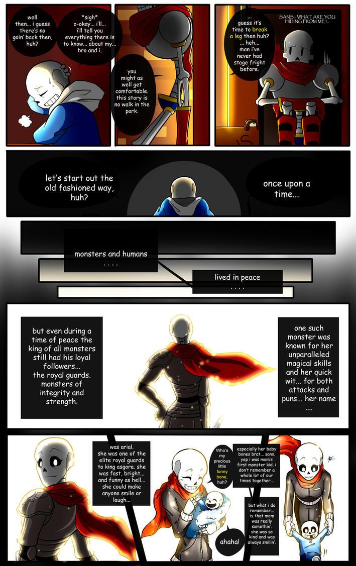 Reminiscence: Undertale Fan Comic Pg. 13 by Smudgeandfrank