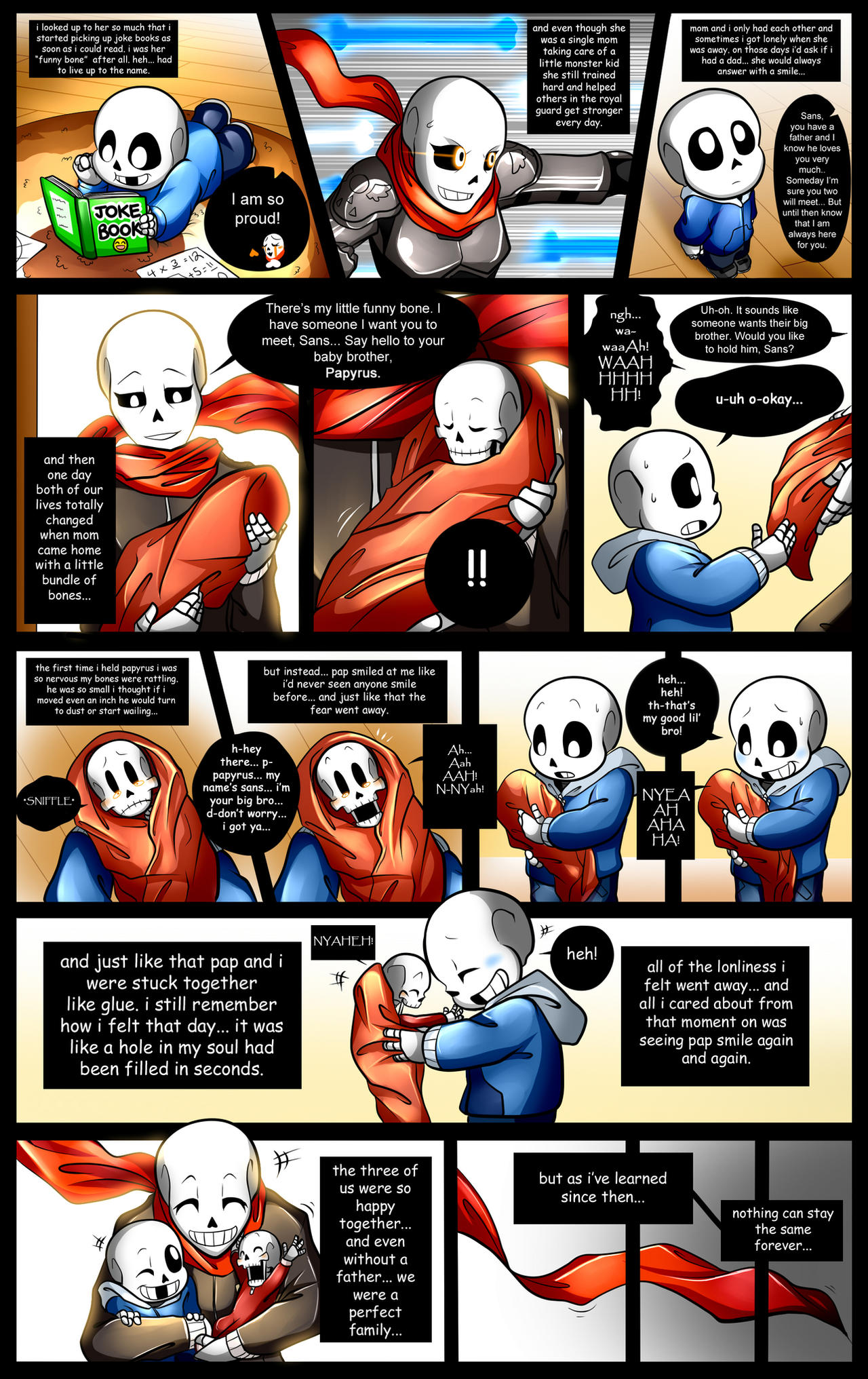 Reminiscence: Undertale Fan Comic Pg. 14 by Smudgeandfrank