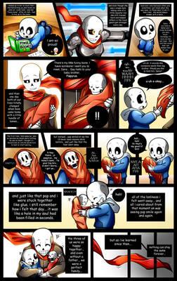 Reminiscence: Undertale Fan Comic Pg. 14