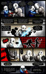 Reminiscence: Undertale Fan Comic Pg. 15