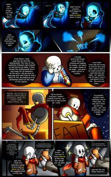 Reminiscence: Undertale Fan Comic Pg. 17