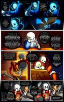 Reminiscence: Undertale Fan Comic Pg. 17 by Smudgeandfrank