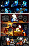 Reminiscence: Undertale Fan Comic Pg. 17