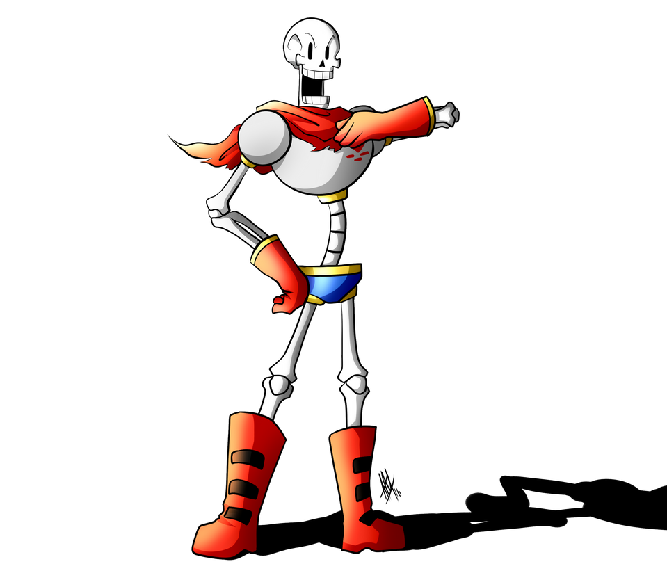 Let's Draw Papyrus (Speed Drawing Video) by Smudgeandfrank ...