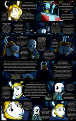 Reminiscence: Undertale Fan Comic Pg. 25 by Smudgeandfrank