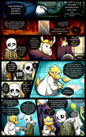 Reminiscence: Undertale Fan Comic Pg. 26 by Smudgeandfrank