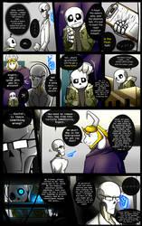 Reminiscence: Undertale Fan Comic Pg. 28 by Smudgeandfrank