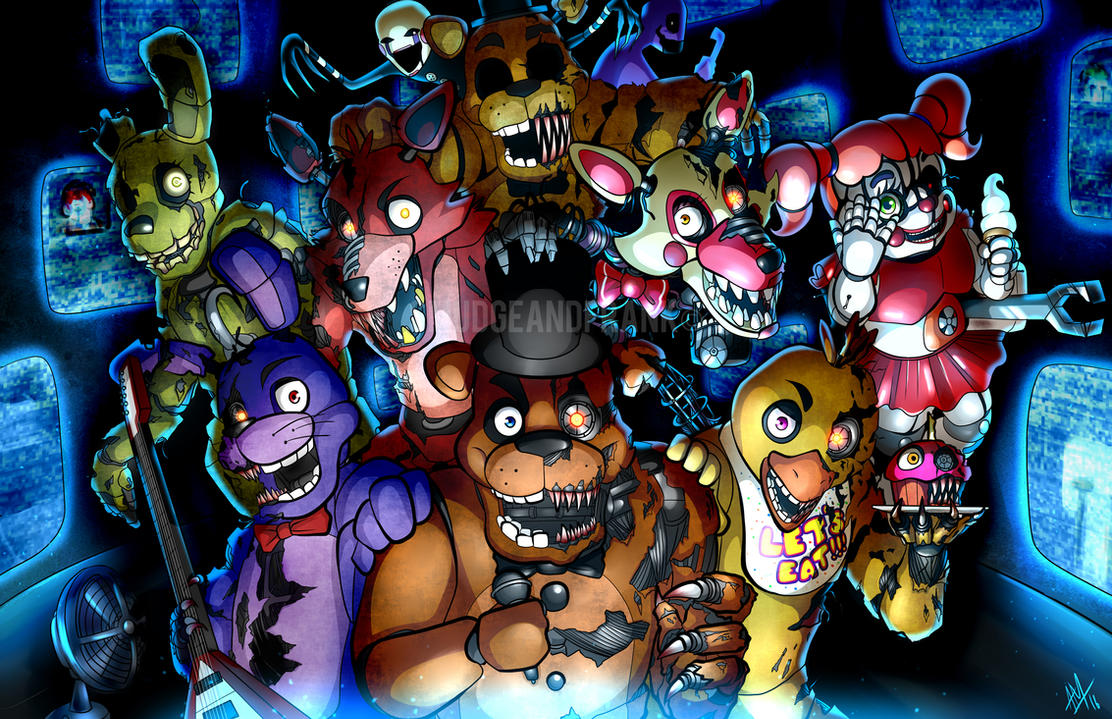 Five Nights At Freddy's by Smudgeandfrank on DeviantArt