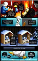 Reminiscence: Undertale Fan Comic Pg. 31 by Smudgeandfrank
