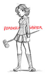 Heathers: Veronica Sawyer by Smudgeandfrank