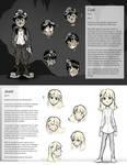Mine Character Sheets: Coal and Jewel
