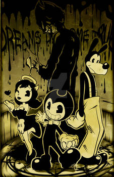 Bendy And The Ink Machine PRINT AND VIDEO IN DESC