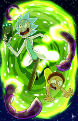 Rick And Morty: Commission