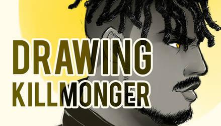 Drawing Killmonger (VIDEO IN DESCRIPTION) by Smudgeandfrank