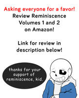 Review Reminiscence on Amazon!