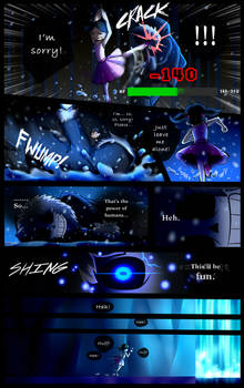 Reminiscence: Undertale Fan Comic Pg. 38 by Smudgeandfrank