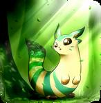 Leafrret (Pokemon Fusion SPEEDPAINT VIDEO)