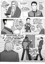 Freezer Burnt: DBH Comic by Smudgeandfrank