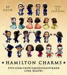 Hamilton CHARMS (PRE-ORDER IN DESCR)