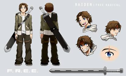 Raiden F.R.E.E. Character Sheet by Smudgeandfrank