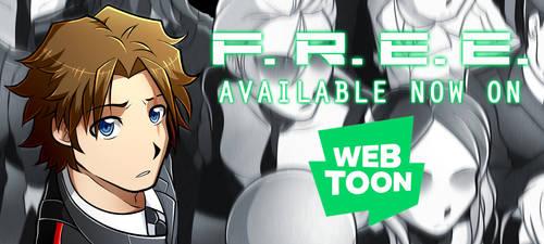 F.R.E.E. IS NOW ON WEBTOON!! (LINK IN DESCRIPTION) by Smudgeandfrank