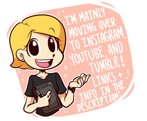 I'm Moving to Instagram and MORE! (PLS READ DESCR)