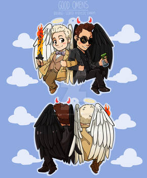 Good Omens: CHARM FOR SALE! (LINK IN DESCR)