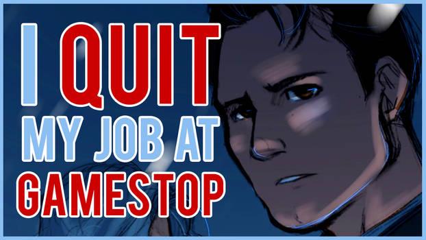 I QUIT, GAMESTOP! I Storytime Speedpaint (VIDEO)