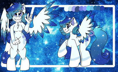 Andromeda (Ref Sheet) by UntrimmedLines