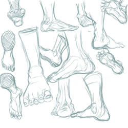 Foot Sketches