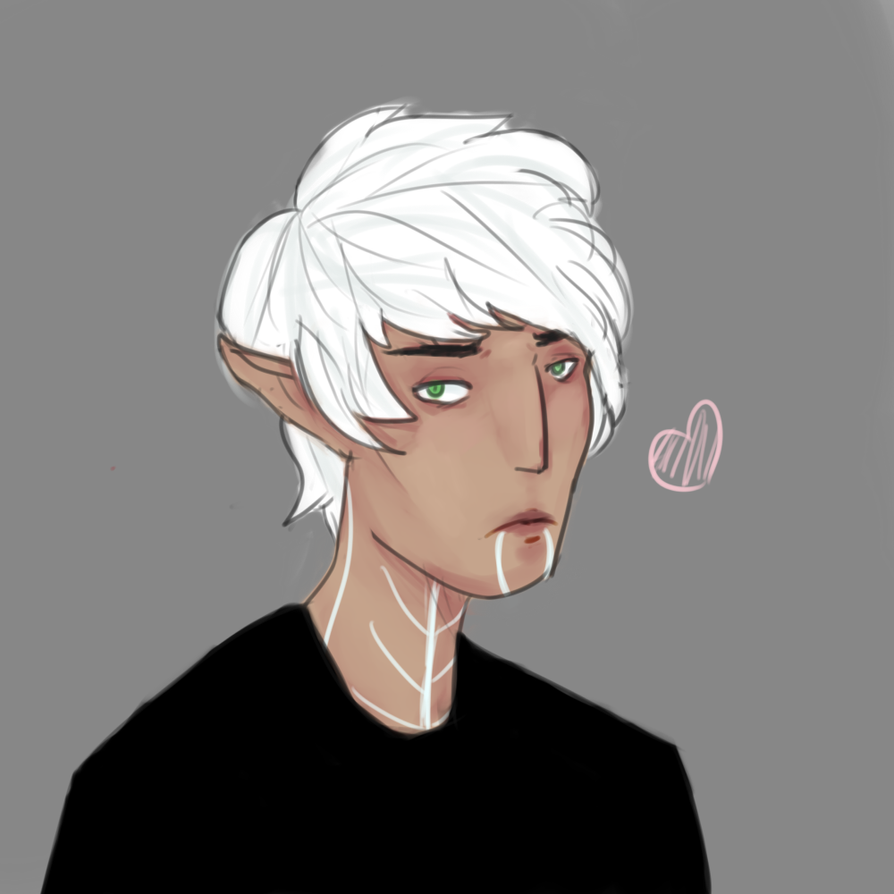 broody elf son :0 by nyan-ooze