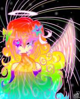 .:Rainbow Puke:. by koolkatashley10