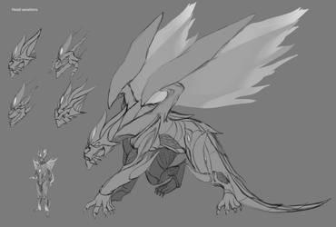 Ryu dragon form