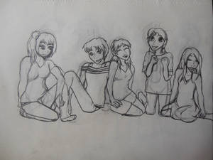 Girls hanging out 2