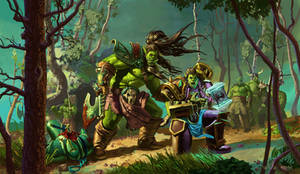 Orcs from warcarft
