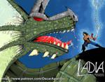 Ladia Pin-up: Leo 1 by OscarAparicio